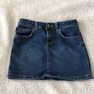 ⭐️ Girls denim skirt
